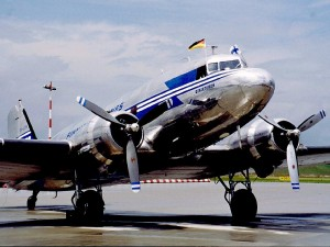 DC-3 from Finnland
